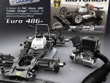 ED Modellismo - Motonica P8C Classic 2WD Combo Vintage con motore nitro e scarico