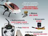 Bizmodel - Elicottero radiocomandato Style 50SE con Motore 56 JBA, Radio e Elettronica