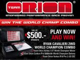 Facebook Contest: Vinci un set Ryan Cavalieri 2wd World Champion Combo