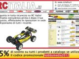 Negozio di modellismo: Sconto promozionale RC ITALIA