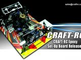 CRAFT-RC: Setup Board per automodelli in scala 1:8 e 1:10
