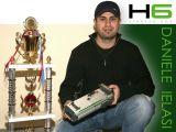 HARD RACING: Daniele Ielasi H6 starter box per automodelli da pista