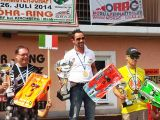 """Dario Balestri è il Campione Europeo 2014  EFRA 1/8 Pista """"A"""""""