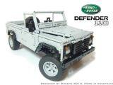 Lego Land Rover Defender 110 radiocomandato!