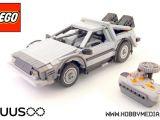 Lego: la DeLorean radiocomandata di Ritorno al Futuro!