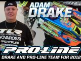 Adam Drake nel 2012 correr con il Team Pro-Line