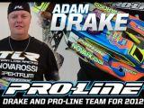 Adam Drake nel 2012 correrà con il Team Pro-Line
