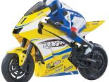 DuraTrax DXR500 RTR: Motocicletta brushless da pista 1:5