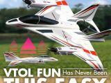E-Flite Convergence VTOL: Aeromodello a decollo verticale