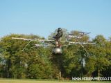 e-VOLO: Il primo multicottero elettrico radiocomandato in grado di trasportare una persona