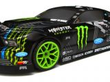 HPI E10 Drift Vaughn Gittin Jr Monster Energy Nitto tire e la 2014 Ford Mustang