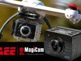 Videocamera 1080i per Blade 350 QX - Magicam SD22W