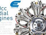 Motori radiali a 4 tempi per aeromodellismo Evolution - Horizon
