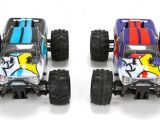 Monster Truck RTR ECX RUCKUS 4WD in scala 1/24