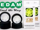 EDAM - Gomme in schiuma Touring 1/10 - SabattiniCars