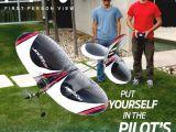 E-Flite FPV Vapor: micro aereo con sistema FPV 5.8GHz