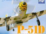 Aeromodello radiocomandato ParkFlyer Eflite P51D Mustang