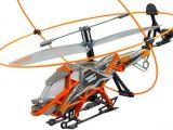 Spin Master: Elicottero Radiocomandato giocattolo Air Hogs Heli cage e lancia razzi Battle Tracker