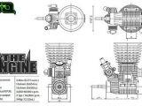 Robitronic: The Engine - Micro motore nitro per Buggy 1/8