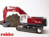 Escavatore idraulico radiocomandato RH 25.5 O&K Robbe Anticipazioni Nuremberg TOY FAIR 2013