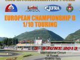 """Campionato Europeo EFRA 2013 """"B"""" per Touring Car 1/10"""