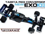 Exotek EXO103 - Telaio in fibra di carbonio per Tamiya F103