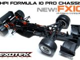Exotek FX10 - Telaio in carbonio per HPI Formula Ten 