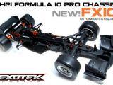 Exotek FX10 - Telaio in carbonio per HPI Formula Ten
