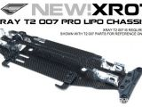 Exotek XR07 - Telaio in carbonio LiPo Ready Xray T2 007 Pro