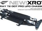 Exotek XR07 - Telaio in carbonio LiPo Ready Xray T2 007 Pro
