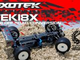 EXOTEK RACING TEK-18X - Kit di conversione per RC18 Associated