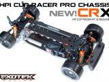 Exotek CRX - Telaio in carbonio per HPI Cup Racer
