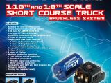 Motore Brushless per automodelli short course