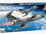 Italeri F104 Starfighter Lockheed Martin - Modellismo Statico