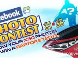 Facebook Photo Contest: Vinci un elicottero radiocomandato Thunder Tiger Raptor G4 E720 FL