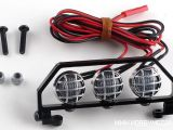 Fendinebbia a led per Kyosho ES Series Sand Master buggy