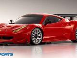 Kyosho Ferrari 458 Italia su telaio MiniZ MR-03