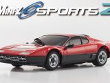 Kyosho MiniZ MR-03 Sports 2: Ferrari 360 GTC, 250 GTO, F40, F50 e 512BB