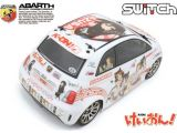 HPI SWITCH - Fiat 500 ABARTH Versione Itasha K-ON!