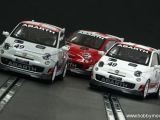 Racer Slot Cars - Fiat 500 Abarth con assetto da corsa 