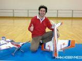 FlightTech G-YAK: Volo acrobatico indoor con Andrea Giavarini