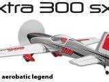 Aeromodello acrobatico Flyzone Extra 300 SX 3D Rx-R