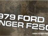 JConcepts: Carrozzeria Ford Ranger F250 1979 per Traxxas Slash e AE SC10