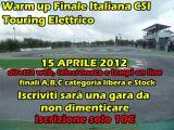 """Warm Up della finale Italiana CSI Touring elettrico - Pista """"G.Marchese"""" PDM di Acquaviva."""