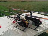 Gaui NX7: Elicottero a scoppio classe 700