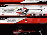 GAUI X5 Lite e Basic kit: Elicottero per volo acrobatico 3D