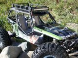 "Gear Head RC: Portapacchi ""Trail Rack"" Roof Racks e LED light bar - Accessori per offroad Axial"