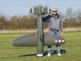 Giant Scale P-47 Razorback 50-61cc/EP ARF - Hobbico