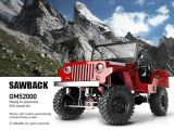 GMODE Sawback Automodello offroad 4WD in scala 1/10