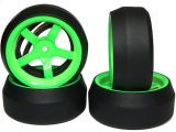 Gomme da DRIFT con cerchi SPEC D Series - Yeah Racing